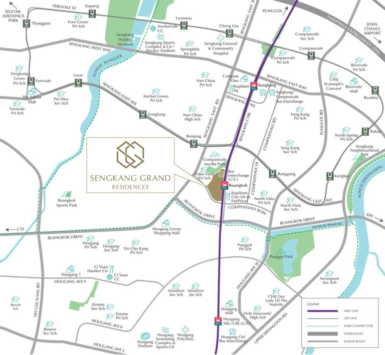 sengkang-grand-residences-location-map